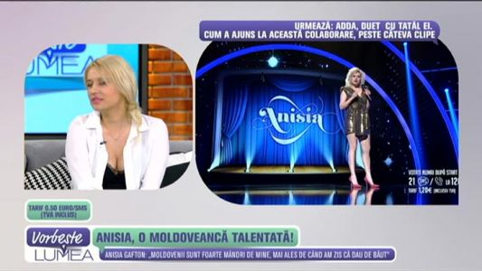Anisia, o moldoveanca talentata!
