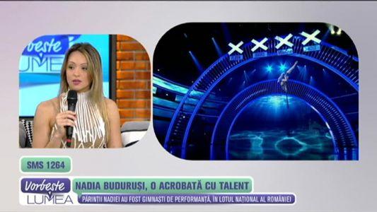 Nadia Budurusi, o acrobata cu talent
