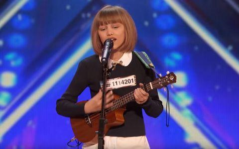 A urcat pe scena de la America s Got Talent cu o chitara micuta, iar ce a urmat e incredibil. Reprezentatia pentru care a primit Golden Buzz