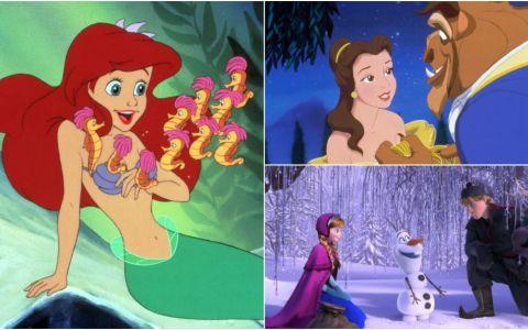 Cum ar arata copiii printeselor si printilor Disney. Imaginile adorabile cu personajele de desene animate