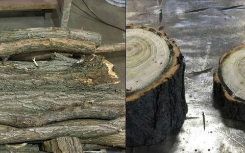A facut un cadou uimitor dintr-o bucata de lemn. Tu oferi asta ca dar de nunta?