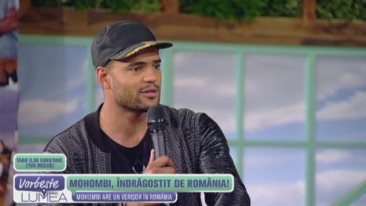 Mohombi, indragostit de Romania