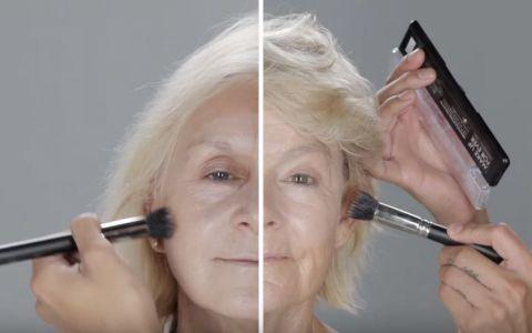 Transformarea spectaculoasa a doua femei cu varsta de peste 65 de ani dupa ce sunt machiate profesional. Imaginile sunt virale