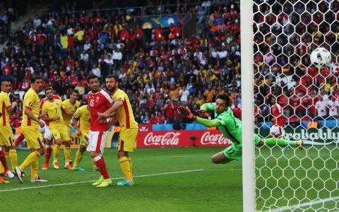 GALERIE FOTO Cele mai spectaculoase imagini din meciul Romania - Elvetia