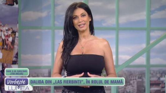 "Dalida din ""Las Fierbinti"", in rolul de mama"
