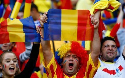 Cele mai frumoase imagini cu suporterii Romaniei la meciul cu Albania GALERIE FOTO
