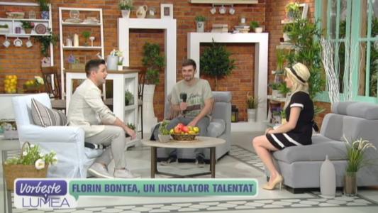 Florin Bontea, un instalator talentat