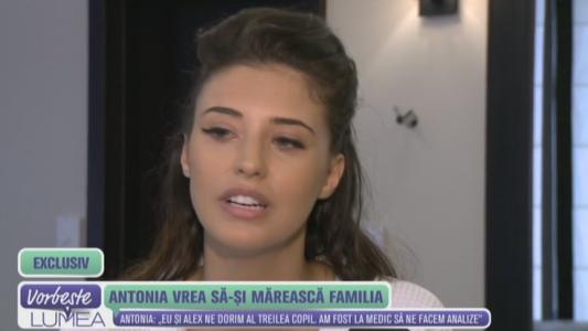 Antonia vrea sa isi mareasca familia