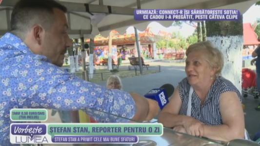 Stefan Stan, reporter pentru o zi!