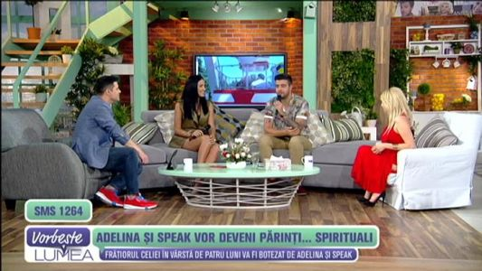 Adelina si Speak vor deveni parinti... spirituali