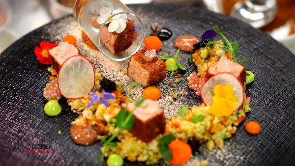 Salata de ton cu fructe uscate, tapioca si bulgur
