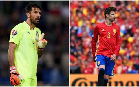 Italia - Spania e LUNI, de la 19:00! Afla ultimele detalii despre super meciul transmis de Pro TV