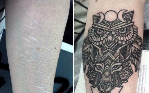 La prima vedere par doar niste simple tatuaje, dar in realitate sunt mai mult decat atat. Ce adevar dureros ascund imaginile