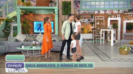 Giulia Anghelescu, o mamica de nota 10