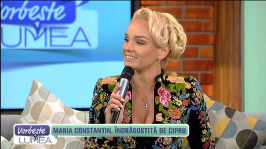 Maria Constantin, indragostita de Cipru