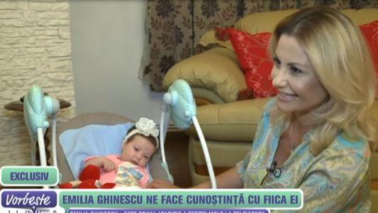 Emilia Ghinescu ne face cunostiinta cu fiica ei