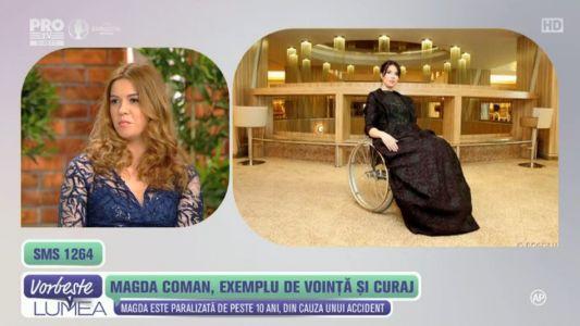 Magda Coman: exemplu de vointa si curaj