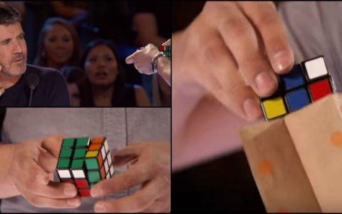 Spune ca este singurul om din lume care poate face asta cu un Cub Rubik. Numarul care imbina perfect magia cu gandirea matematica