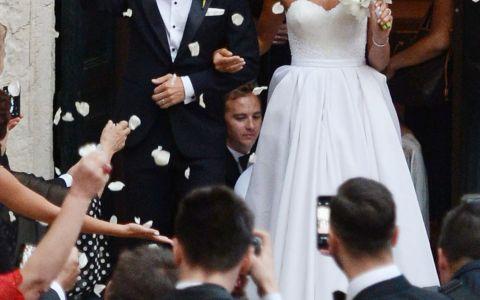 Ana Ivanovic si Bastian Schweinsteiger s-au casatorit in cadrul unei ceremonii luxoase. Sorana Cirstea, printre invitati