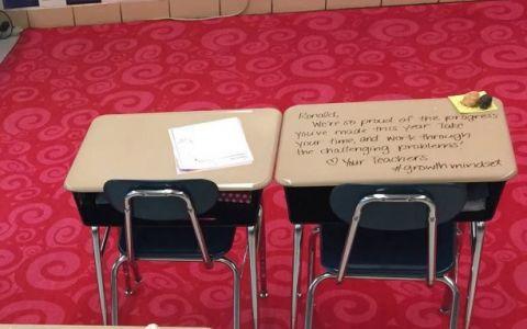 Ce a facut o profesoara pentru elevii sai, in ziua examenului. Ti-ar placea sa vezi asta in scoala copilului tau?