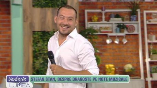 Stefan Stan, despre dragoste pe note muzicale