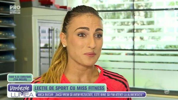Lectie de sport cu Miss Fitness