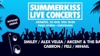 Smiley deschide seria de concerte SUMMERKISS LIVE CONCERTS!
