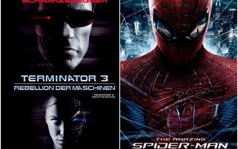 Cele mai bune filme sunt in weekend la ProTV: Sambata,  Terminator3 , Duminica,  Uimitorul Om-Paianjen , de la 20:30