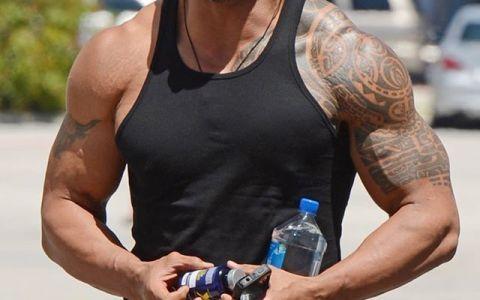 Nu a castigat vreodata un Oscar, dar este cel mai bine platit actor. Dwayne  The Rock  Johnson, castiguri fabuloase in 2016