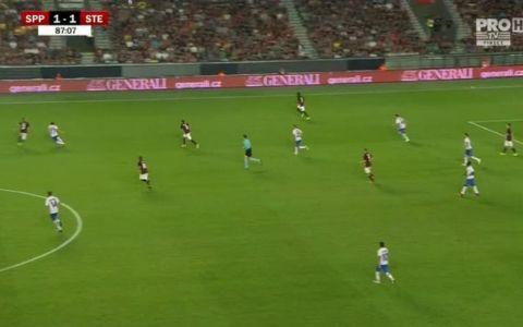 Sparta Praga - Steaua Bucuresti 1 - 1. Vezi AICI cele mai importante faze VIDEO