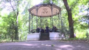 """Caravana """"Vanatorii de Talent"""" a ajuns la Braila. Cine sunt membri corului Armonia, vechi de aproape un secol si jumatate"""