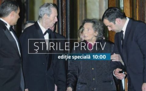 Program special la Pro TV in memoria Reginei Ana