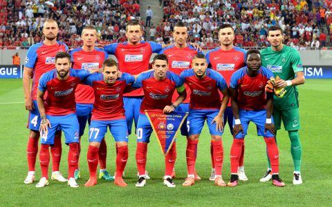 Steaua a pierdut primul meci impotriva celor de la Manchester City. Returul este miercuri, in direct, la Pro TV!