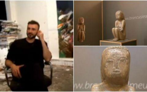 Pictorul Adrian Ghenie va dona o lucrare pentru achizitionarea  Cuminteniei Pamantului . Cat a strans Ministerul in 5 luni