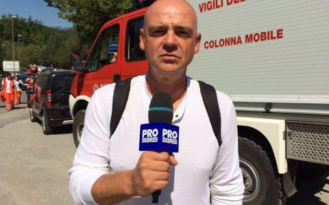 Catalin Radu Tanase transmite pentru Stirile Pro TV informatii de ultima ora din Italia