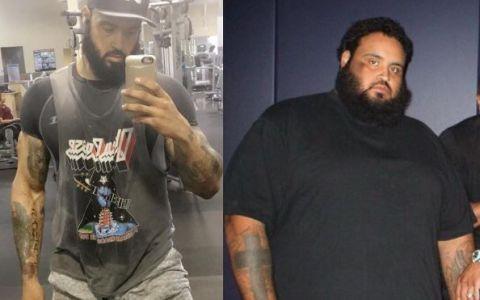 Transformarea incredibila a acestui barbat:  Fitness-ul mi-a salvat viata . Cum arata dupa ce a slabit 150 de kilograme