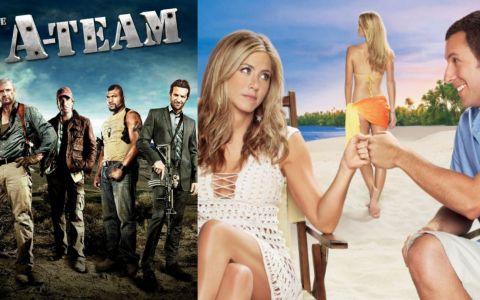 In weekend, cele mai tari filme se vad la ProTV, de la 20:30: Sambata - Echipa de soc si Duminica - Nevasta de imprumut