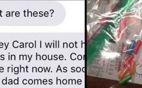 A gasit in camera fiicei sale cateva pastile colorate. A chemat-o imediat acasa, iar explicatia fetei a devenit viral