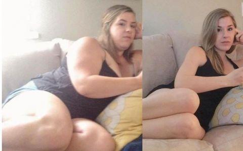 Dupa ce a slabit 40 de kilograme, aceasta femeie intoarce toate privirile. Cum arata in realitate corpul ei