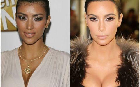 Cum s-a transformat fata lui Kim Kardashian in ultimii 10 ani. Motivul pentru care arata atat de diferit