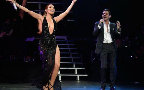 Jennifer Lopez, pe scena alaturi de fostul sot. Motivul pentru care cei doi artisti au aparut in aceasta ipostaza