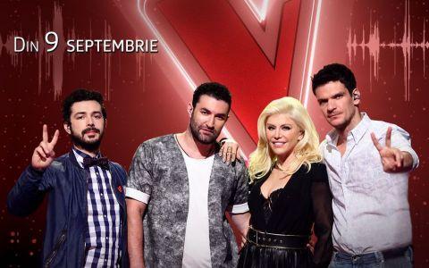 Pro TV da startul unui nou sezon incendiar al show-ului in care doar vocea conteaza vineri, 9 septembrie, de la 20:30. Daca e vineri, e Vocea Romaniei!
