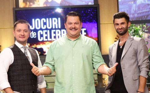 Jocuri de celebritate  cu Bobonete, Strunila si Ipate, din 14 septembrie, la Pro TV