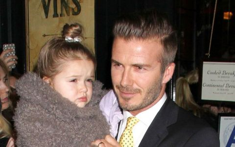 Harper Beckham, o adevarata domnisoara. Cu cine seamana mai tare si cat de mult a crescut fiica sotilor Beckham