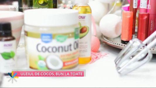 Uleiul de cocos, bun la toate