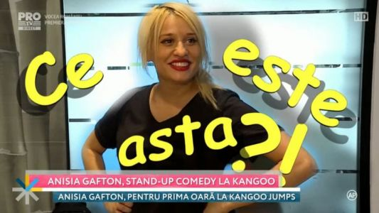 Anisia Gafton, stand-up comedy la kangoo