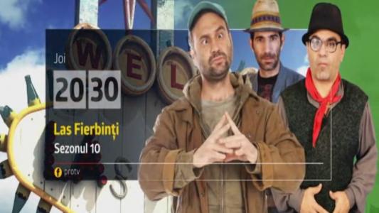 "Sezonul 10 ""Las Fierbinti"" incepe joi, la ProTV"
