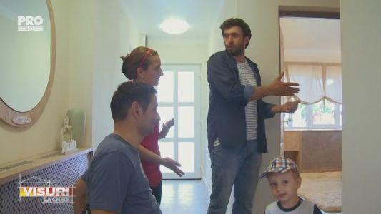 """Datorita echipei """"Visuri la Cheie"""", familia Anton are acum o noua casa"""