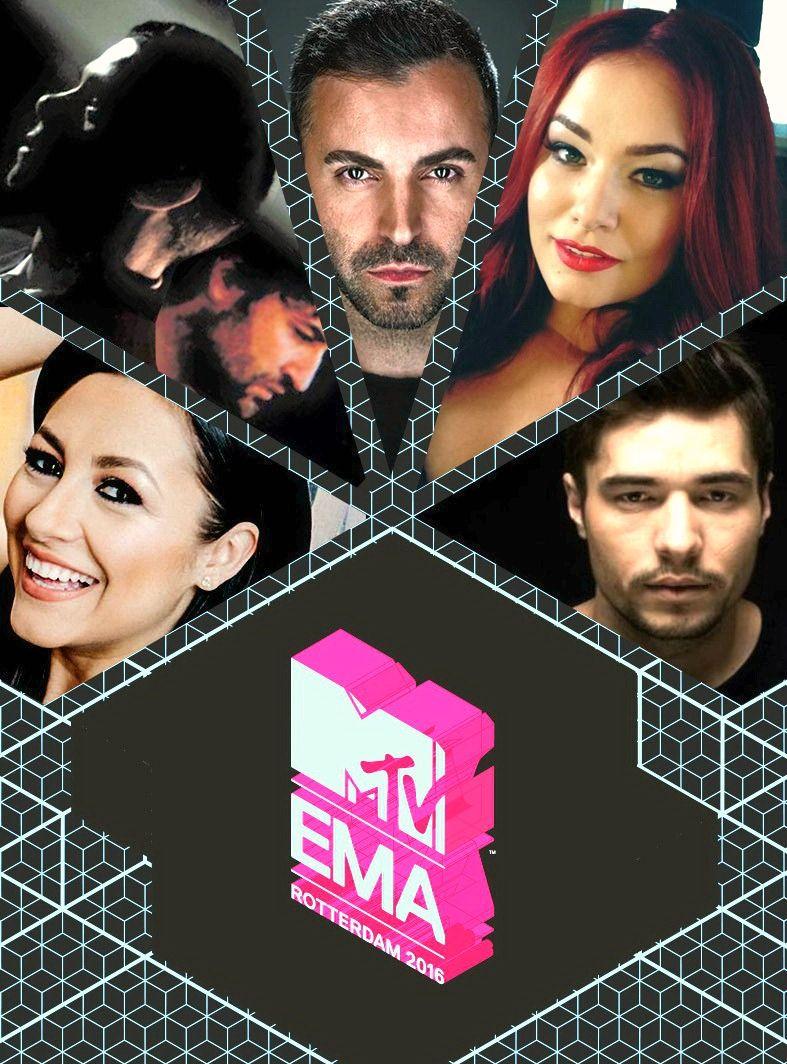 Andra si Smiley, nominalizati la MTV EMA 2016! Cele mai tari premii muzicale europene isi cauta castigatorii