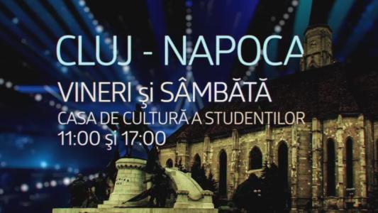 Eroii talentului se pregatesc de show-ul vietii lor! Vineri si sambata, cel mai iubit show din Romania ia cu asalt Casa de Cultura a Studentilor din CLUJ-NAPOCA